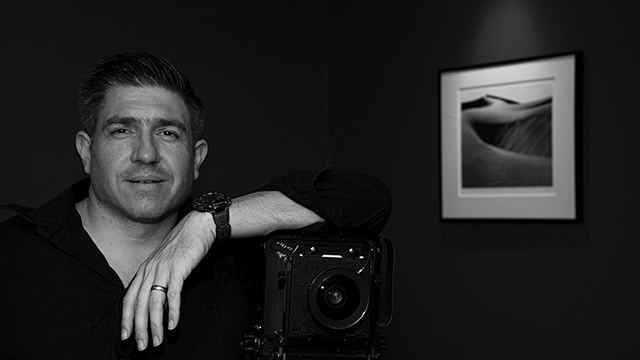 A self-portrait of photographer Colin Seitz